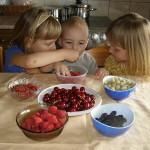 ekološko voće-zdrava dječija hrana